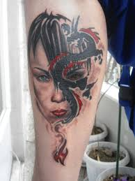 dragon tattoo real by andreas m3 on deviantart