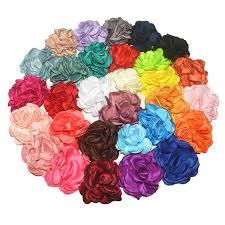 flowers for headbands 60pc 3 2 8cm burned flower newborn vintage soft artificial