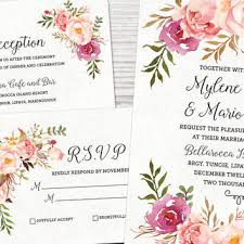 watercolor wedding invitations best watercolor wedding invitations products on wanelo