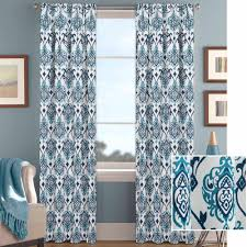 white damask curtain panels home design and decoration