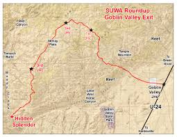 Monument Valley Utah Map by Southern Utah Wilderness Alliance