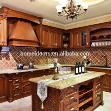 wooden kitchen pantry cupboard kitchenette open type oak wood kitchen cabinet kitchen pantry cupboards view kitchenette bomei product details from guangdong bomei