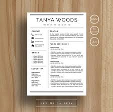 Iwork Resume Template Professional Resume Template Cv Template Cover Letter For Ms