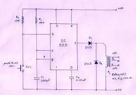 simple off delay timer circuit using ic 555 u2013 vidyasagar academy