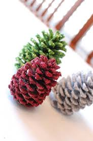 Decorating Pine Cones With Glitter 31 Glamorous Sparkling Diy Decoration Ideas To Beautify Your Decor
