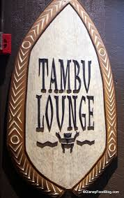 review the tambu lounge in disney u0027s polynesian resort the