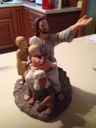 home interior jesus figurines homco figurines 2001 home interior homco tears of
