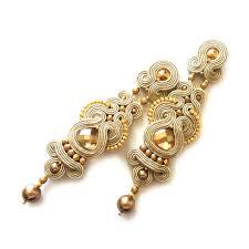 earing design soutache earrings clip on earrings post earrings sabo design