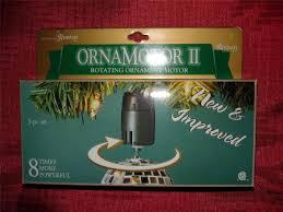 lights ornamotor ii rotating ornament motor 3 pc set 8x