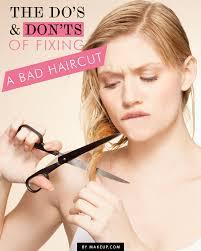 fixing bad angled bob haircut how to fix a bad haircut the do s and don ts