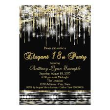 18th birthday party invitations u0026 announcements zazzle