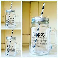 seconds set of 3 mason style drinking jars christmas party