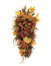 designer fall teardrop swag southern charm wreaths
