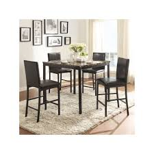 Dining Room Furniture Deals Homevance Catania 5 Piece Dining Table And Counter Chair Set