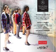 how to get tickets to mercedes fashion week mercedes fashion week in south africa