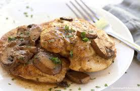 marsala cuisine one pan chicken marsala recipe