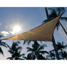 Canopy Triangle Sun Shade by Shelterlogic Sun Shade Sail Canopy Triangle In Canopies
