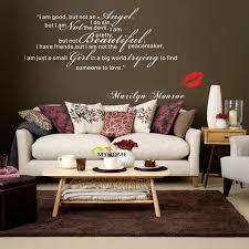 Marilyn Monroe Themed Bedroom by Aliexpress Com Buy Marilyn Monroe Wall Decals Art Home Living