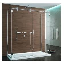 Sliding Tub Shower Doors Glass Showers Sided Symmetry Kinetik Hardware Systems