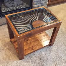 How To Build An End Table Cherry Clark Busyhandsblog