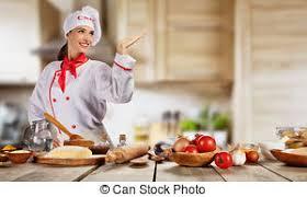 chef cuisine femme chef cuistot femme cuisinière nourriture photo de