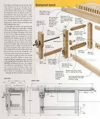 ultimate workbench plans woodarchivist ultimate workbench plans