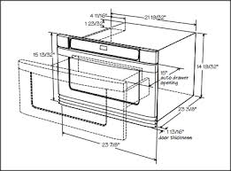under cabinet microwave dimensions how to install a microwave drawer intended for under cabinet