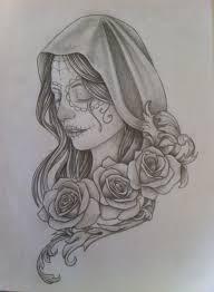 32 best santa muerte tattoo images on pinterest death tatting