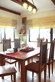 House Furniture Design In Philippines Contemporary Filipino Furnishings In A Tagaytay Log Cabin Rl
