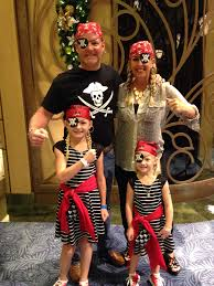Top Family Halloween Costumes Maybe The Best Easy Pirate Costume For Disney Cruise Pirate Night