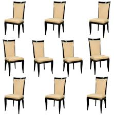 Art Deco Dining Room Chairs Dining French Art Dining Room Chair Stunning Furnished Teak Wood