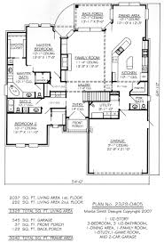 Square Feet Of 3 Car Garage by 3 Bedroom 2 Bath Car Garage House Plans Home Pattern