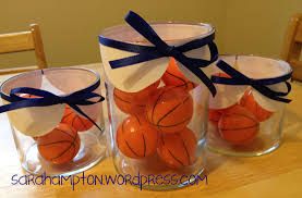basketball centerpieces centerpieces at home with mrs hton