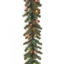 national tree 9 foot by 10 inch spruce garland