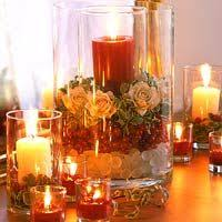 composizione di candele composizioni con fiori secchi faidate fotogallery donnaclick