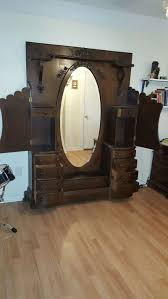Solid Wood Armoire Wardrobe Furniture Antique Wardrobe Closet Antique Chifferobe For Sale