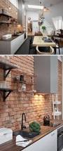 uncategories small brick tiles for kitchen brick wall design