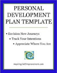 25 unique personal development plan template ideas on pinterest