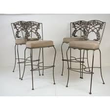 iron bar stools iron counter stools awesome wrought iron bar stools wrought iron bar and stools image of