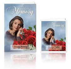 funeral program examples for funeral house