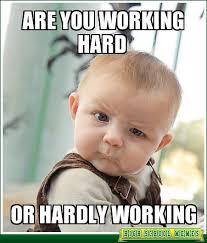Work Hard Meme - sma hard where smart work meets hard work omar sayyed blog