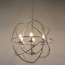 orion light orion 14 light floating gl globe led chandelier