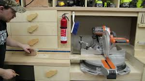 super simple stop block for a miter saw station jays custom