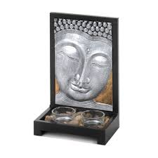 The Home Decor Superstore by Prime Superstore Buddha Plaque Candle Decor