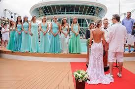 cruise ship weddings royal wedding on rccl splendour of the seas crew center
