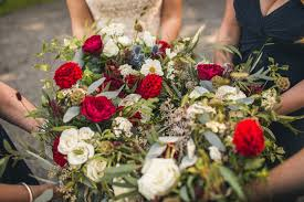 wedding flowers northumberland lynsey and s northumberland meets australia rustic outdoor