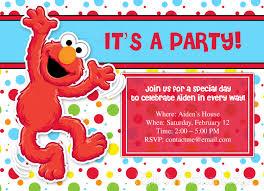 Create Own Invitation Card Elmo Birthday Invitations Plumegiant Com