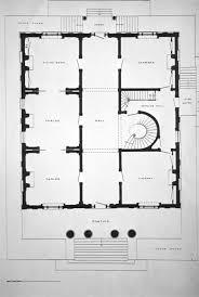 ward hall note on slide first floor plan kentucky digital library