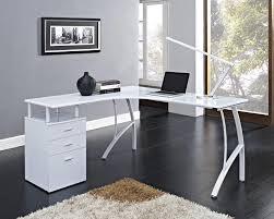 white l shaped computer desk best home furniture decoration