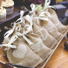 wedding favor containers 25ct burlap heart design wedding favor bag target